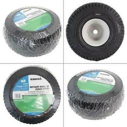 15 in Universal Front-Rider Wheel For Lawn Tractors Inflatab