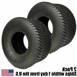 20X10.00-8 4 Ply Tubeless Turf Tire Tractor Riding Mower Pai