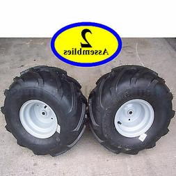 20x10.00-8 TIREs RIMs WHEELs ASSEMBLY Garden Tractor Riding