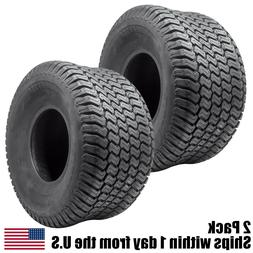 2PK 20X10.00-8 4 Ply Tubeless Turf Tire Tractor Riding Mower
