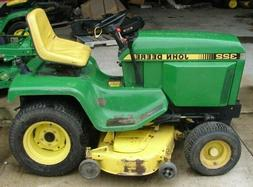 John Deere 322 330 332 430 Lawn Tractor Technical Repair Man