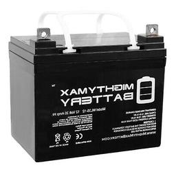 Mighty Max Battery 12V 35Ah Battery Replaces John Deere Lawn