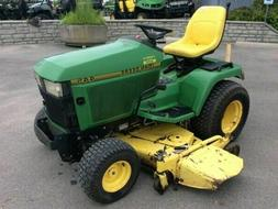 John Deere 425 445 455 Lawn Tractor TM1517 Technical Repair