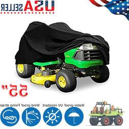 """55"""" Lawn Riding Mower Tractor Cover Max Heavy Duty 210D Oxfo"""