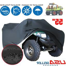 Black Tractor Seat Cover Lawn Garden Riding Mower Waterproof