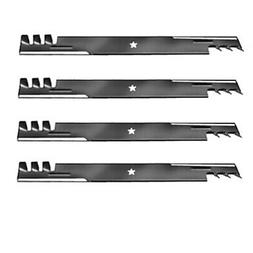 """FOUR 46"""" RIDING MOWER GATOR STYLE MULCHING BLADES for Crafts"""