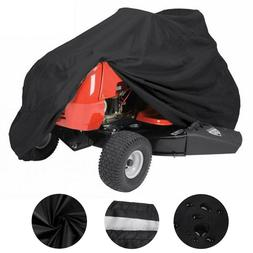 "55"" Lawn Mower Tractor Cover UV Resistant Waterproof Garden"