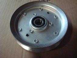 Flat Idler Pulley Replaces JOHN DEERE X300 Series Lawn Tract