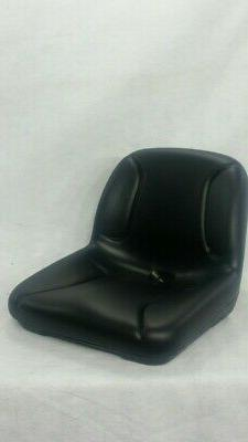 BLACK SEAT FITS ZERO TURN MOWERS, RIDING MOWERS, LAWN TRACTO