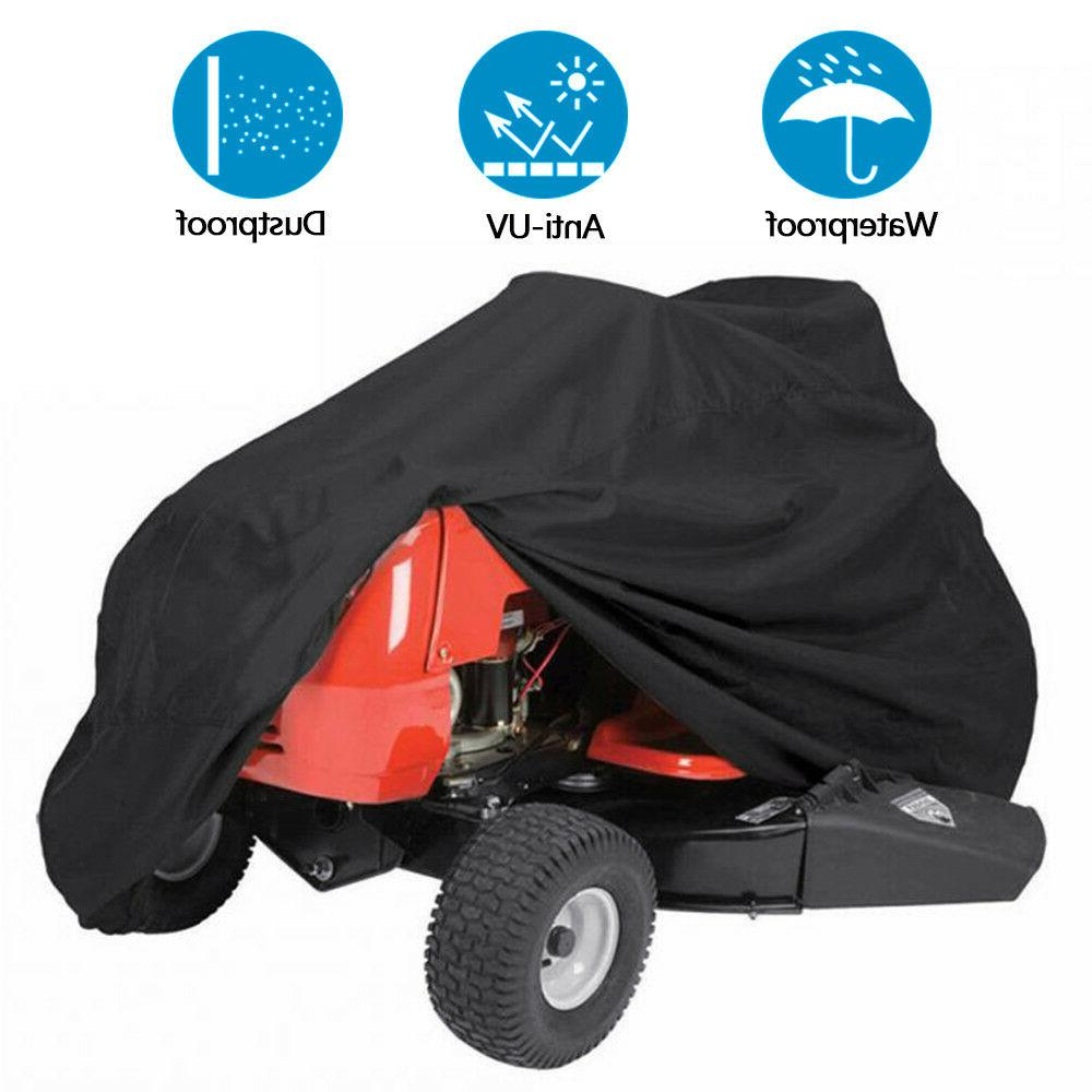 Lawn Mower Tractor Cover UV Resistant Waterproof Garden Outs