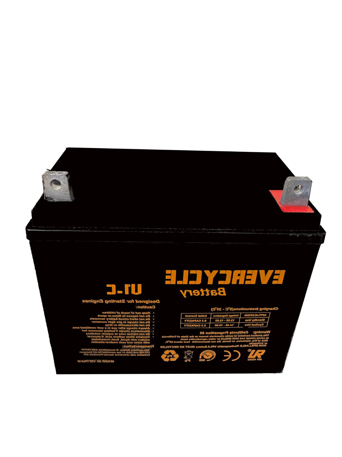 evercycle 12v 200cca battery for craftsman 25780