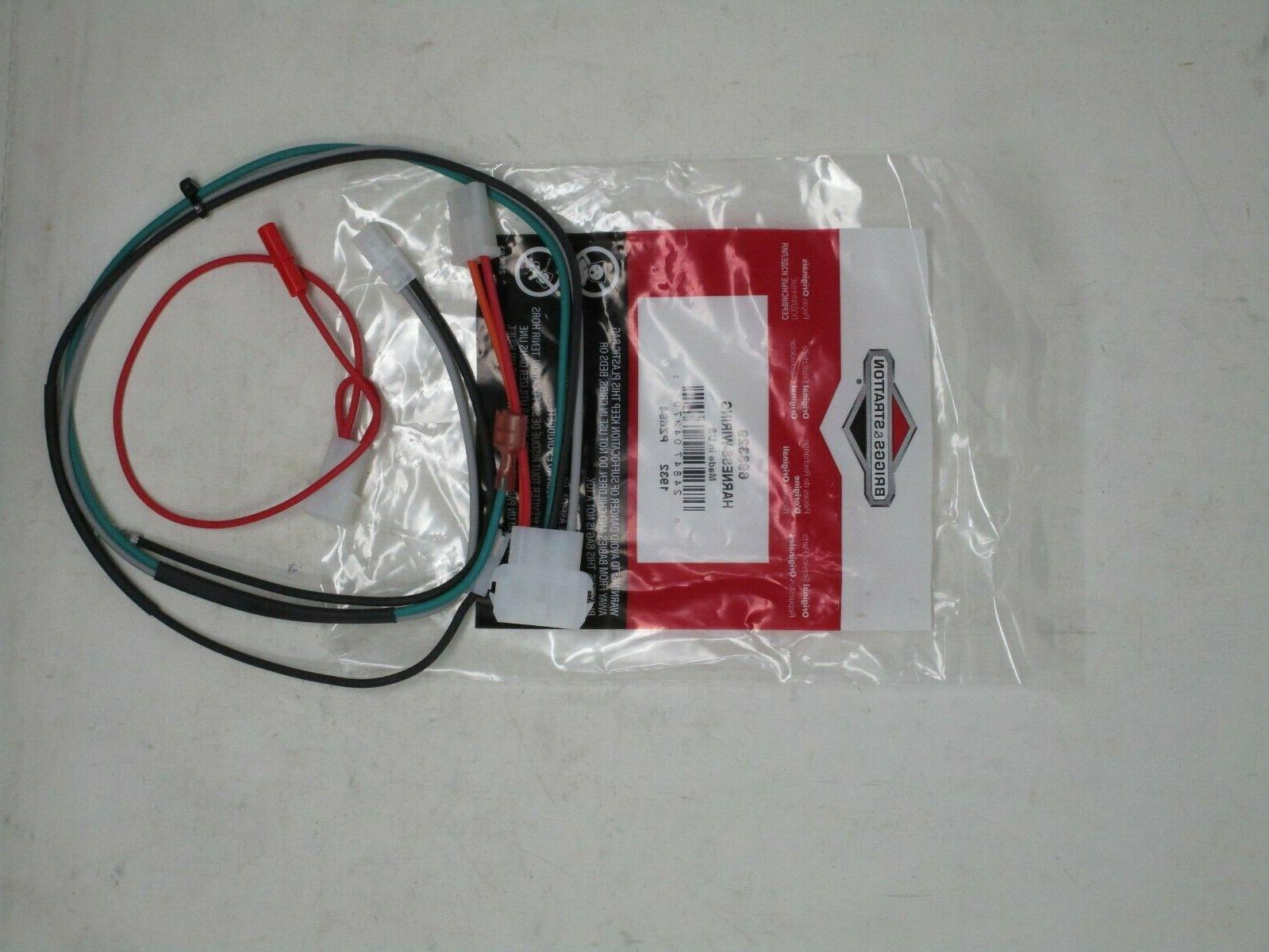 Genuine and Stratton 698329 Wiring Lawn