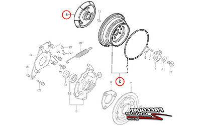 PTO CLUTCH CONE & PULLEY
