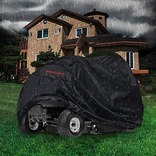 Cover, Riding Lawn Tractor Cover 210D UV Resistant Heavy Duty Durable