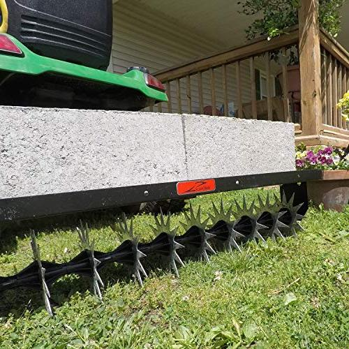 Brinly Tow Spike Aerator, 40-Inch