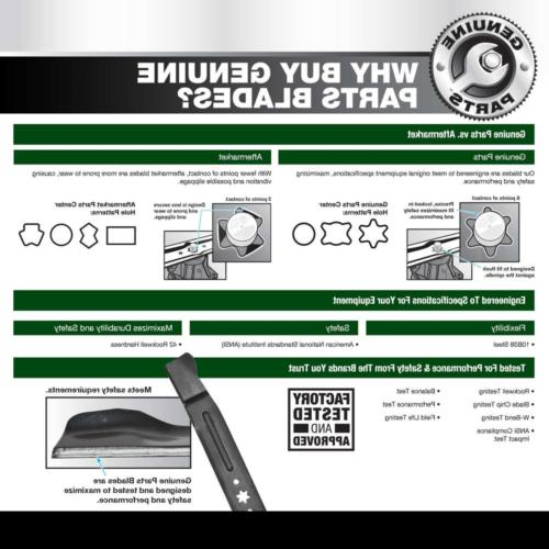 Troy-Bilt Lawn Blade Replacement Sharp Genuine Parts 21 in New