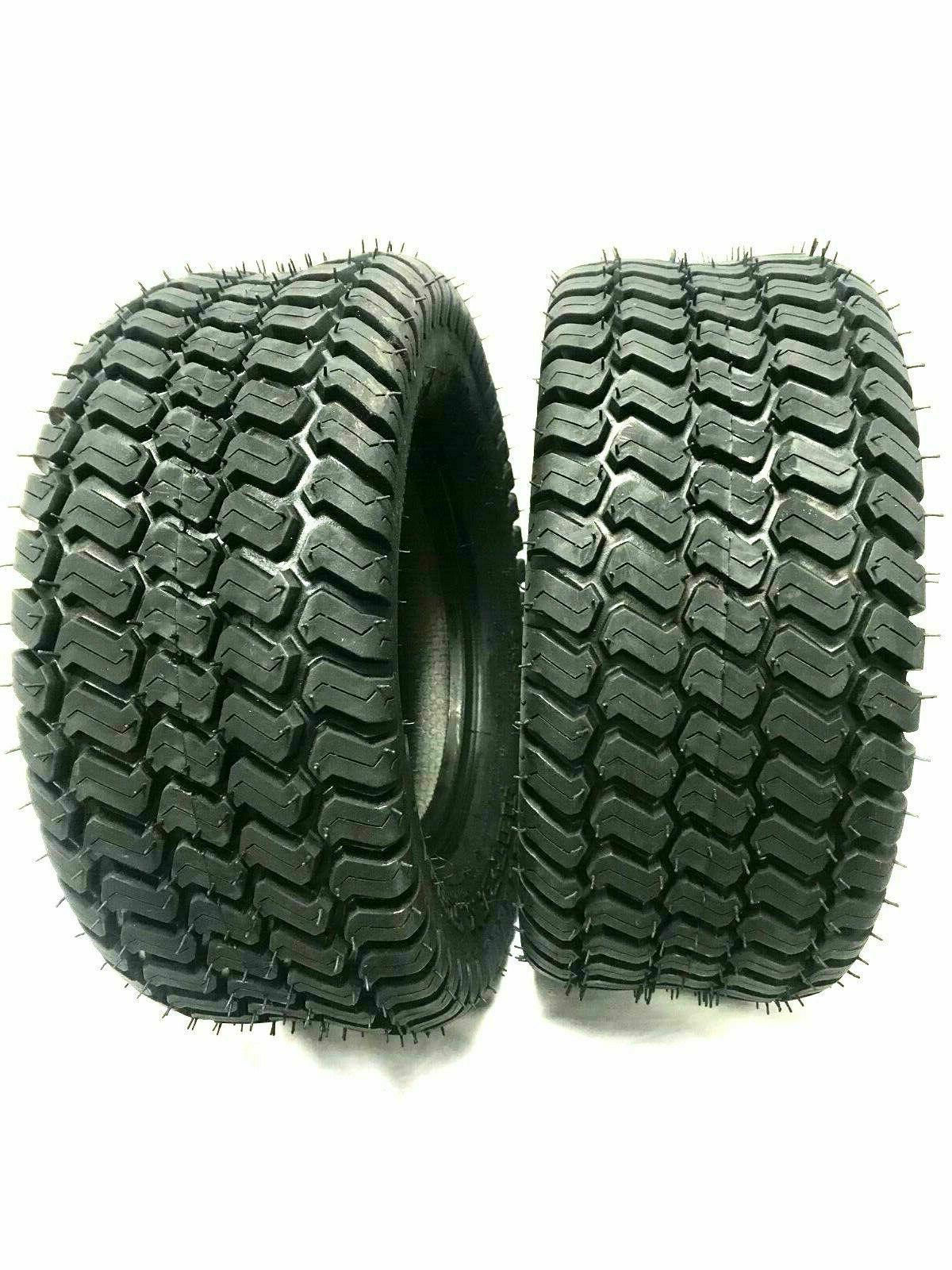 two 20x8 00 10 lawn tractor tires