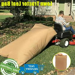 Lawn Tractor Leaf Bag Leaves Collection Large Capacity Sweep