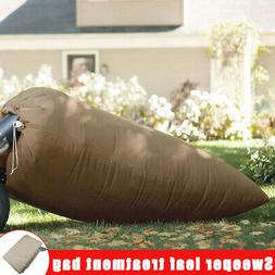 Lawn Tractor Leaf Bag Leaves Large Capacity for Rubbish Swee