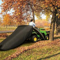 Lawn Tractor Leaf Bag Mower Catcher Riding Grass Sweeper Rub