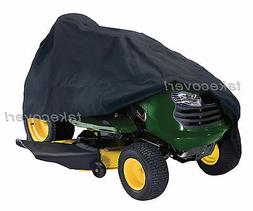 Lawn Tractor Mower Cover Weather UV Protection J-1 fits up t