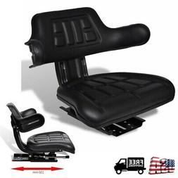 Lawn Tractor Seat Forklift Garden Riding Mower Backrest Adju