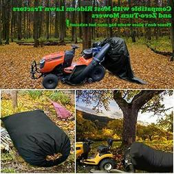 Leaf Bag for Lawn Tractor, Durable 54 cu. ft. 120-inch Openi