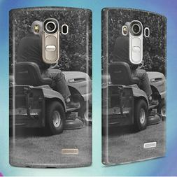 MAN IN BLACK RIDING MOWER HARD BACK CASE COVER FOR LG PHONES