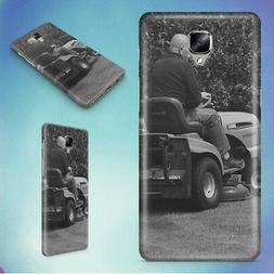 MAN IN BLACK RIDING MOWER HARD BACK CASE FOR ONEPLUS PHONES