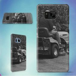 MAN IN BLACK RIDING MOWER HARD CASE FOR SAMSUNG GALAXY S PHO