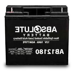 NEW AB12180 12V 18AH SLA Battery for 24 HP Kawasaki Zero-Tur