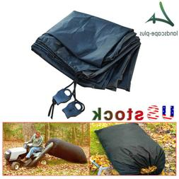 Outdoor Lawn Tractor Leaf Bags Mower Catcher Riding Grass Sw