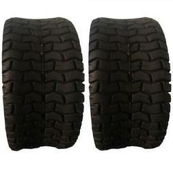 pair TIRES 15x6.00-6 Turf Tires Lawn Mower Tractor 2 Ply Rat