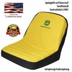 John Deere Riding Mower Seat Cover Water Resistant Yellow Po