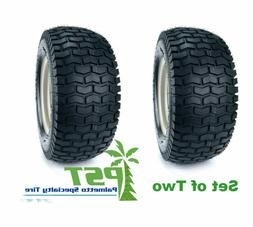 SET Of TWO 13x5.00-6 Turf Tires for Garden Tractor Lawn Mowe