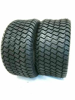 TWO- 20x8.00-10 Lawn Tractor Tires Turf Master 4Ply Heavy Du