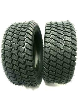 Set TWO - 16x7.50-8 Lawn Tractor 4 Ply Rated Heavy Duty 16x7