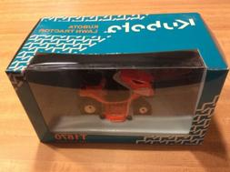 Kubota T1870 Lawn Tractor 1:24 Scale New In Sealed Box MISB