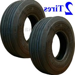 TWO 13x5.00-6 13/500-6 Riding Mower TIRES fit some Hustler C
