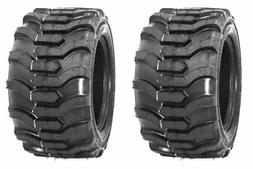 Two 18X8.50-10 Lawn Tractor Tires Lug R-4 R4 PAIR 18x8.5-10