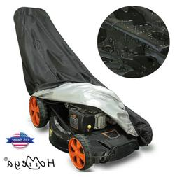 Waterproof Walk Behind Push Lawn Tractor Mower Cover Garden