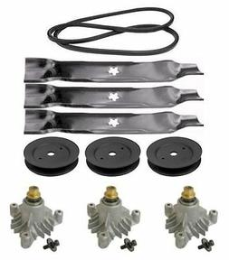 "Sears DLS 3500 46"" Lawn Tractor Mower Deck Parts Rebuild Kit"